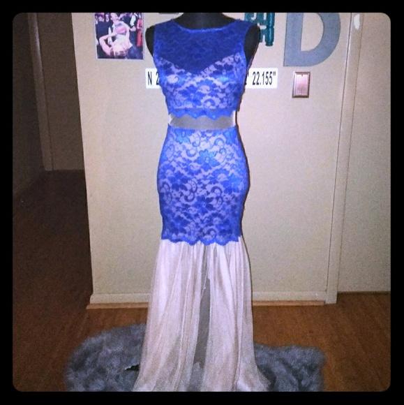 Windsor Dresses | Cobaltroyal Blue Evening Gown | Poshmark